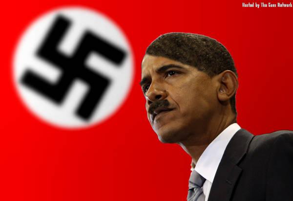 Hail Reich Chancellor Obama Heil-obama