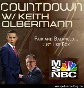 """Olbermann gives Obama """"intense scrutiny"""""""