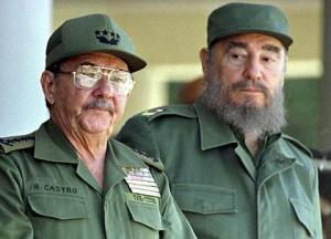 Even Fidel keeps a close watch on his bro
