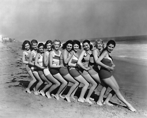 These gals were considered racey at the time