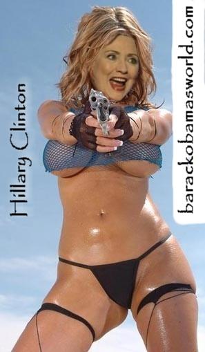 BREAKING NEWS: Hillary Clinton HAS BOOBS! blueollie