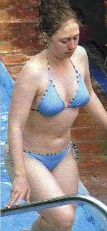 Chelsea Clinton In Bikini